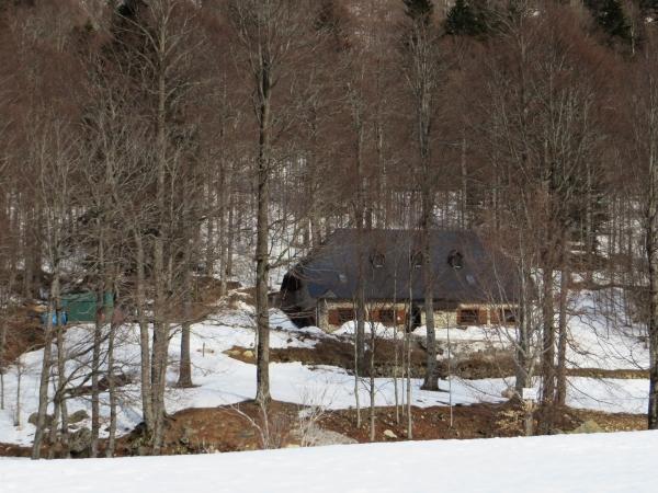 El refugio guardado de Conangles, lugar de inicio de nuestra ascensión